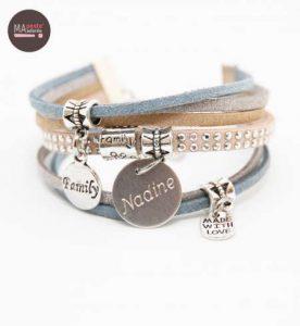 bracelet personnalisé pour femme
