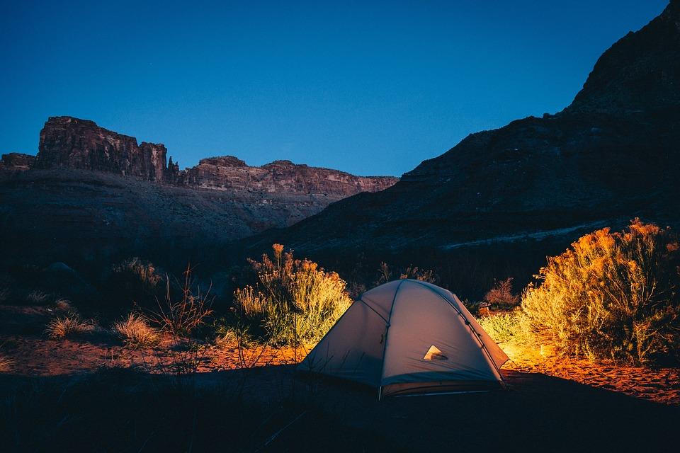 vantages de faire camping pour la santé